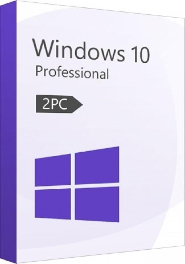 Microsoft Windows 10 Pro CD-KEY 2 PC